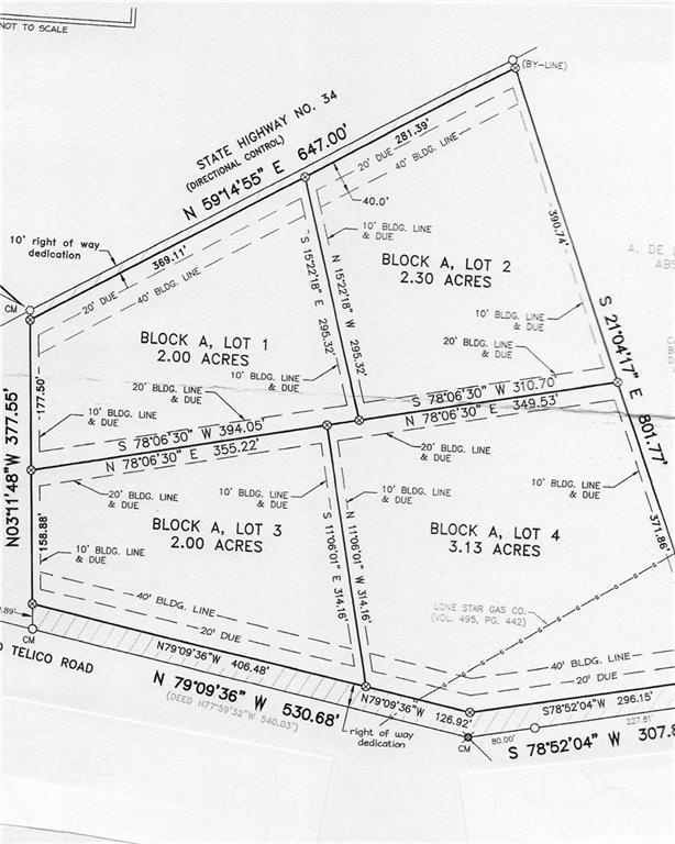 Lot 4 Old Telico Road, Ennis, TX 75119 (MLS #14127193) :: Vibrant Real Estate