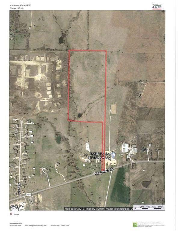 43 Ac Fm 455 W, Sanger, TX 76266 (MLS #14166317) :: Trinity Premier Properties