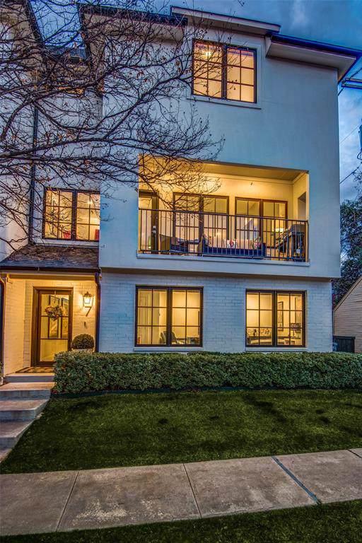 3449 Milton Avenue #7, University Park, TX 75205 (MLS #14268014) :: The Kimberly Davis Group