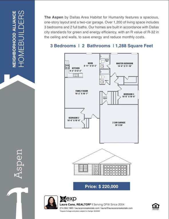 3503 Chicago Street, Dallas, TX 75212 (MLS #14272308) :: The Mitchell Group