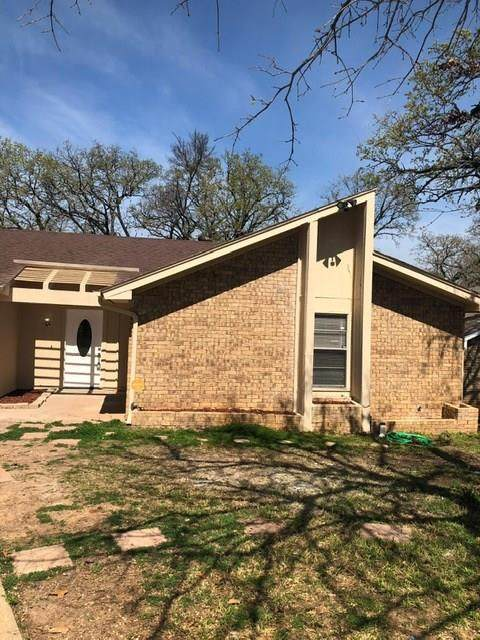 7655 Blue Carriage Court, Fort Worth, TX 76120 (MLS #14288408) :: Hargrove Realty Group