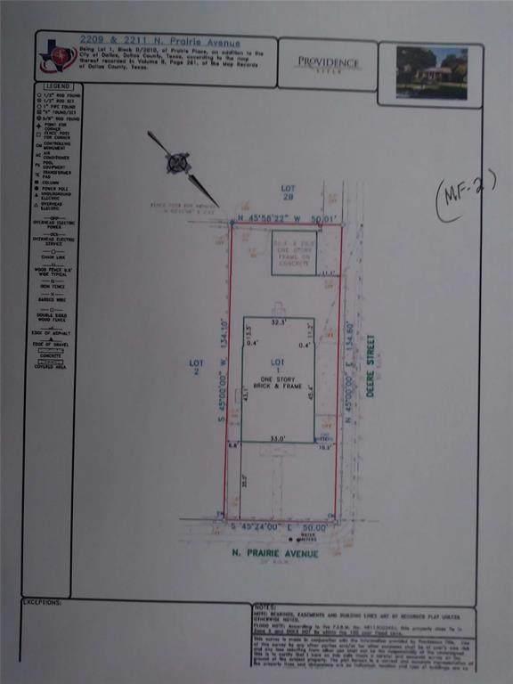 2211 N Prairie Avenue, Dallas, TX 75204 (#14475803) :: Homes By Lainie Real Estate Group