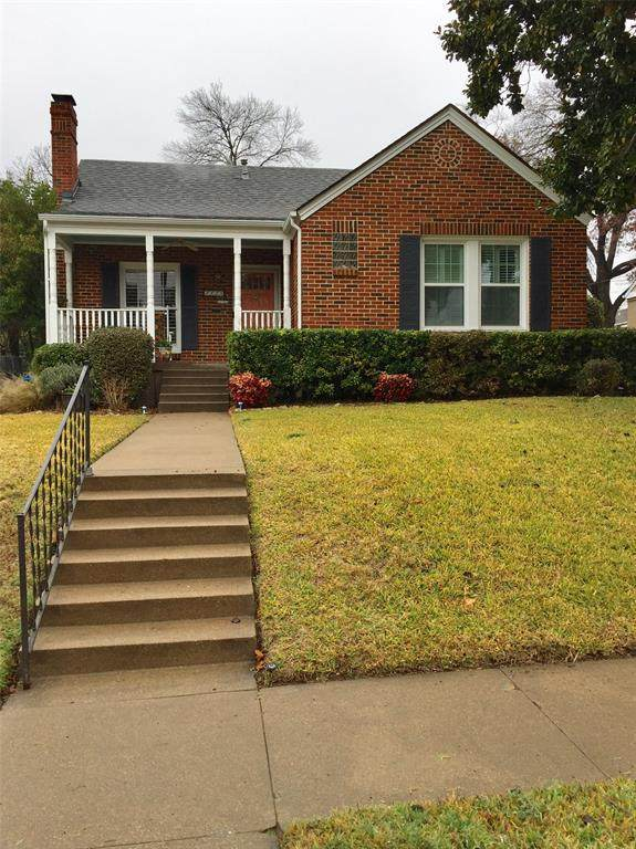 4128 Birchman Avenue, Fort Worth, TX 76107 (MLS #14503947) :: The Mauelshagen Group