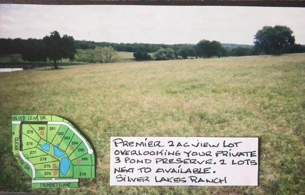 280 Silver Leaf Drive, Sunset, TX 76270 (MLS #14558895) :: RE/MAX Landmark