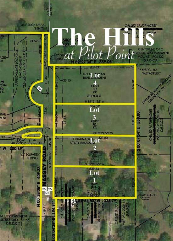 Lot 1 Massey Road, Pilot Point, TX 76258 (MLS #14570371) :: The Daniel Team