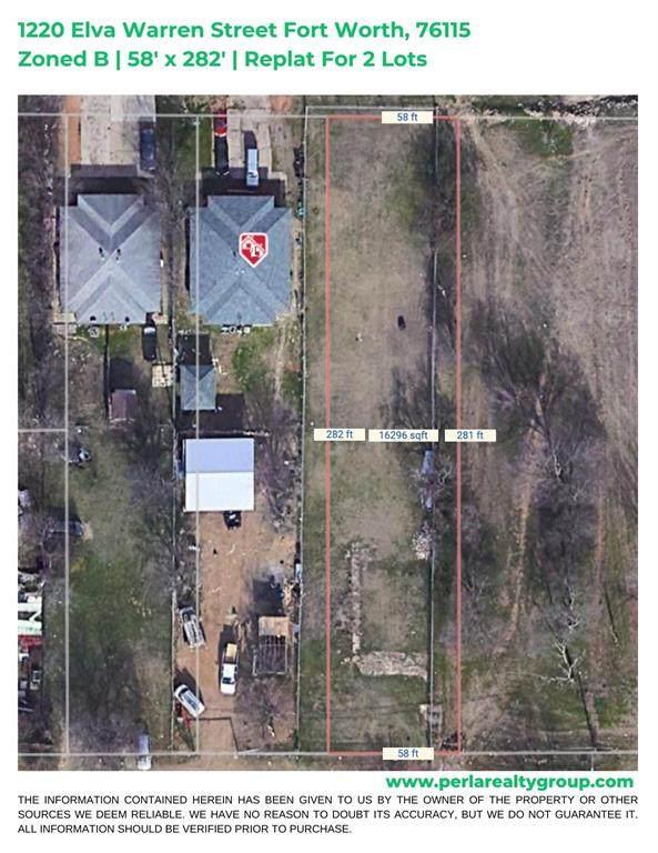 1220 Elva Warren Street, Fort Worth, TX 76115 (MLS #14571667) :: Craig Properties Group
