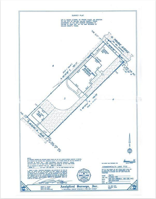 2315 N Prairie Avenue, Dallas, TX 75204 (MLS #14586821) :: Robbins Real Estate Group