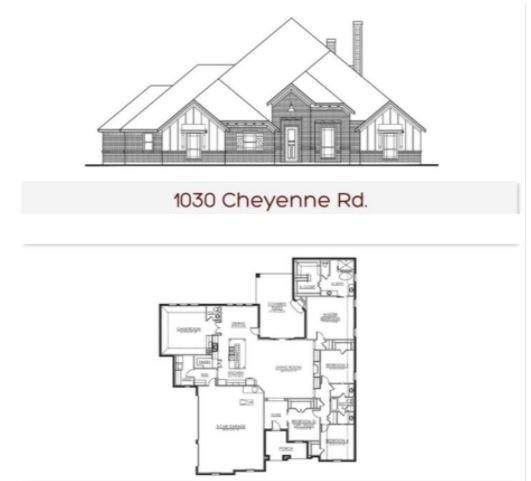 1030 Cheyenne Road, Poolville, TX 76487 (MLS #14687672) :: Frankie Arthur Real Estate