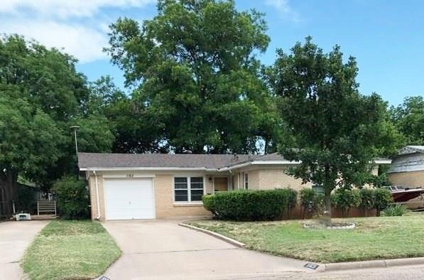 1165 Glendale Drive, Abilene, TX 79603 (MLS #13857908) :: Baldree Home Team