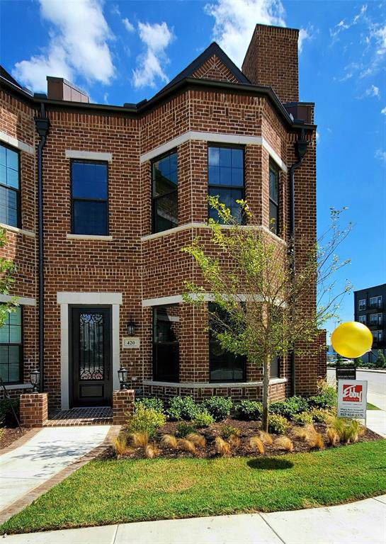 420 Crockett Circle, Roanoke, TX 76262 (MLS #13868047) :: The Good Home Team