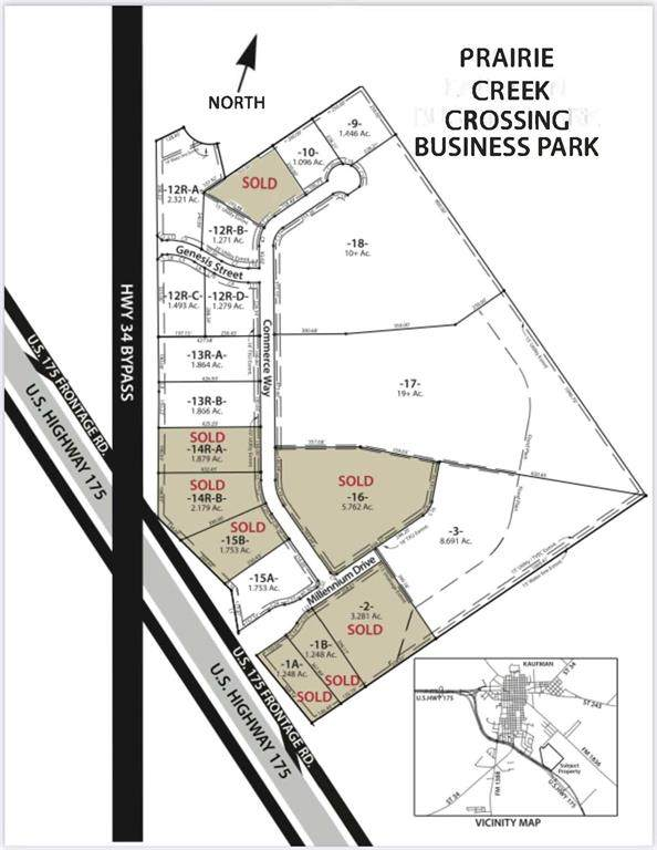 0 Commerce Way - Lot 18, Kaufman, TX 75142 (MLS #14013244) :: The Mauelshagen Group