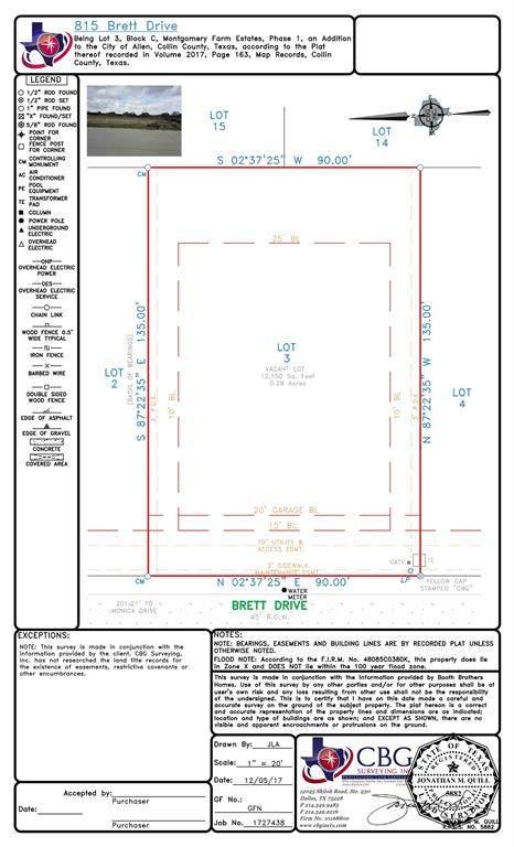 815 Brett Drive, Allen, TX 75013 (MLS #14301898) :: Frankie Arthur Real Estate