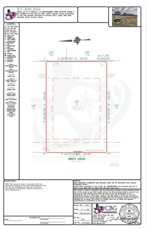 817 Brett Drive, Allen, TX 75013 (MLS #14371384) :: Frankie Arthur Real Estate