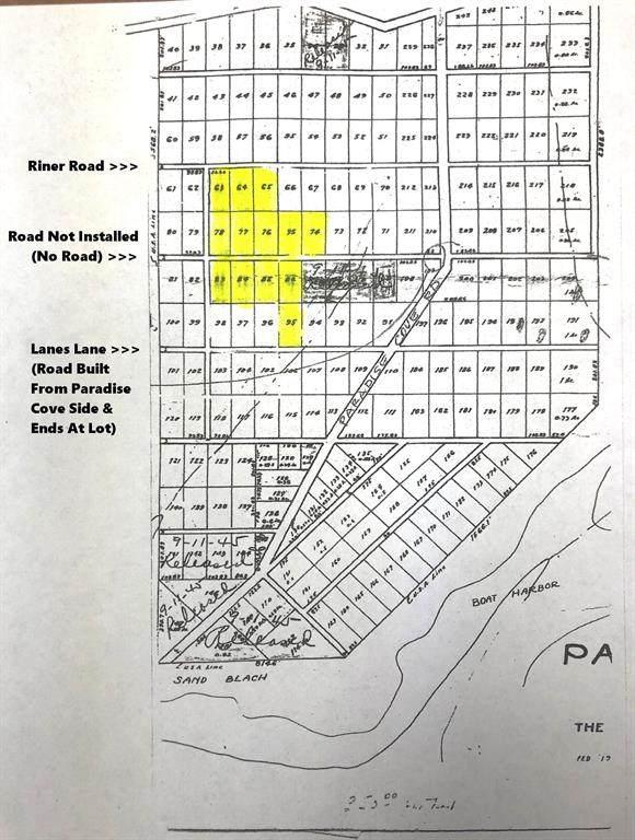 Lot 77 Riner Road, Pottsboro, TX 75076 (MLS #14475259) :: The Kimberly Davis Group