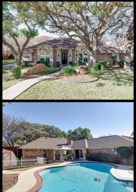 4002 Elmwood Court, Colleyville, TX 76034 (MLS #13971587) :: The Tierny Jordan Network