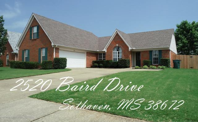 2520 Baird Drive, Southaven, MS 38672 (#322959) :: Berkshire Hathaway HomeServices Taliesyn Realty