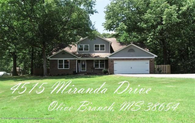 4515 Miranda Drive, Olive Branch, MS 38654 (#323001) :: Berkshire Hathaway HomeServices Taliesyn Realty