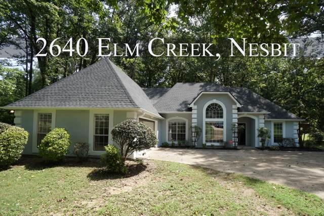 2640 Elm Creek, Nesbit, MS 38651 (MLS #324683) :: Signature Realty