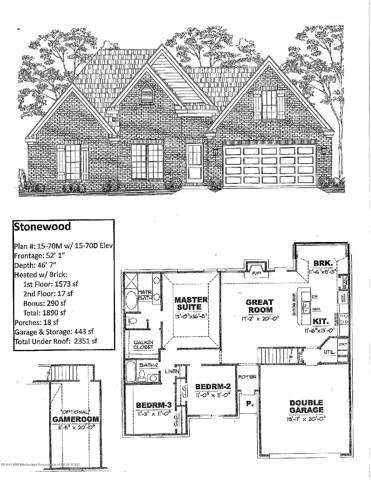 3790 W Dawnwood Circle, Southaven, MS 38672 (MLS #325704) :: Signature Realty