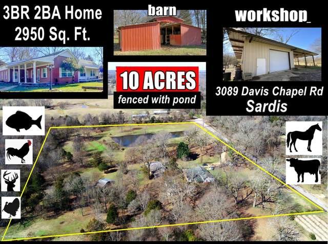 3089 Davis Chapel Road, Sardis, MS 38666 (MLS #328120) :: Signature Realty
