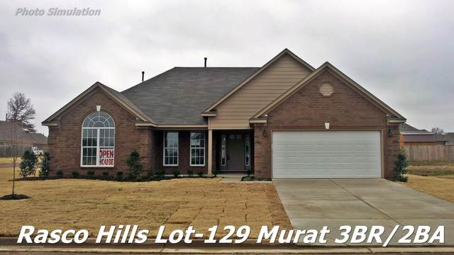 8658 Smith Ranch Drive, Southaven, MS 38671 (MLS #328529) :: The Live Love Desoto Group