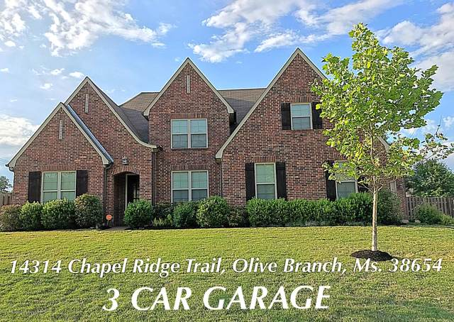 14314 Chapel Ridge Trail, Olive Branch, MS 38654 (MLS #329445) :: The Live Love Desoto Group