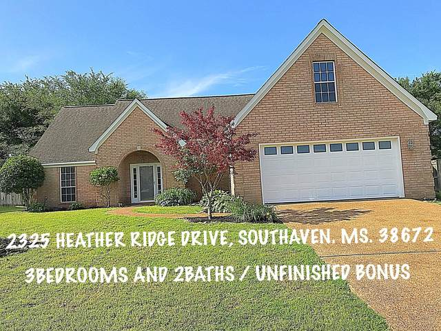 2325 Heather Ridge Drive, Southaven, MS 38672 (MLS #329446) :: Gowen Property Group | Keller Williams Realty