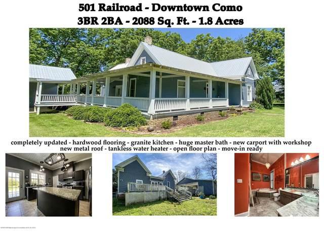 501 Railroad Street, Como, MS 38619 (MLS #329564) :: Signature Realty