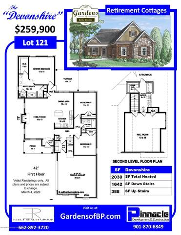 5130 S Montavale, Southaven, MS 38672 (MLS #330368) :: The Live Love Desoto Group