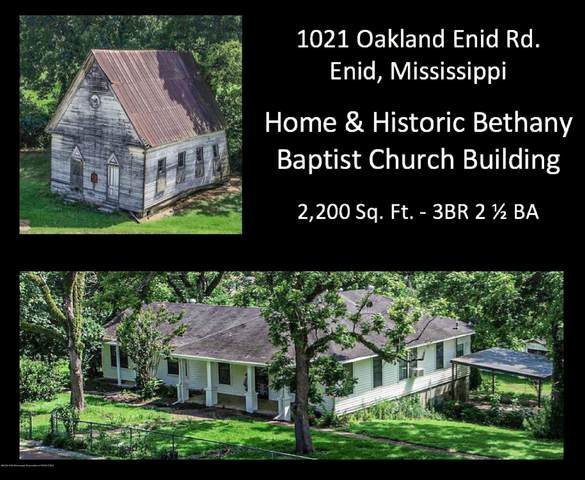 1021 Oakland-Enid Road, Enid, MS 38927 (MLS #330369) :: The Live Love Desoto Group