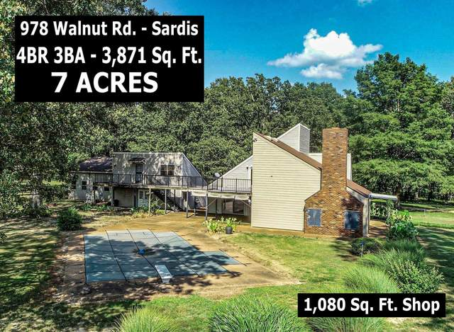 978 Walnut Road, Sardis, MS 38666 (MLS #330893) :: The Home Gurus, Keller Williams Realty
