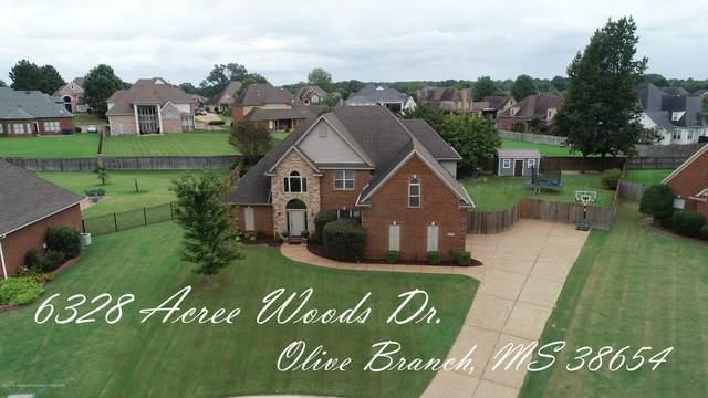 6328 Acree Woods Drive, Olive Branch, MS 38654 (MLS #331530) :: The Home Gurus, Keller Williams Realty