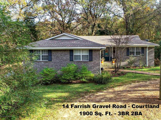 14 Farrish Gravel Road, Courtland, MS 38620 (MLS #332684) :: Signature Realty