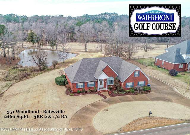 351 Woodland Road, Batesville, MS 38606 (MLS #333478) :: The Live Love Desoto Group