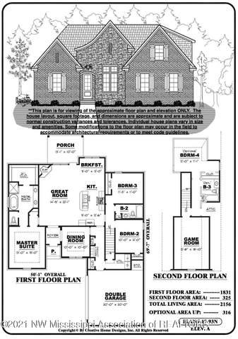 1552 Creek Haven Drive, Hernando, MS 38632 (MLS #333808) :: The Home Gurus, Keller Williams Realty