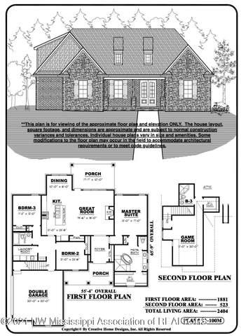 1536 Creek Haven Drive, Hernando, MS 38632 (MLS #333814) :: The Home Gurus, Keller Williams Realty
