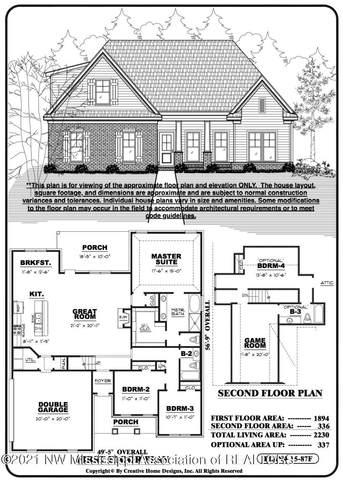 1518 Creek Haven Drive, Hernando, MS 38632 (MLS #333815) :: The Home Gurus, Keller Williams Realty