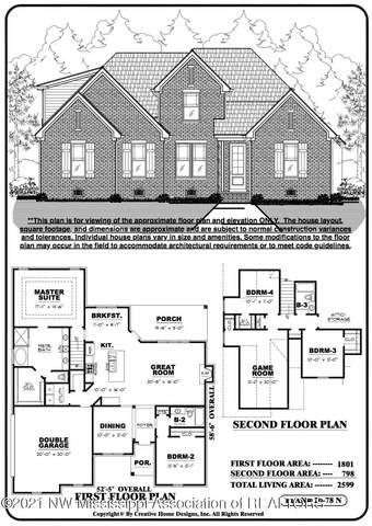 1502 Creek Haven Drive, Hernando, MS 38632 (MLS #333816) :: The Home Gurus, Keller Williams Realty