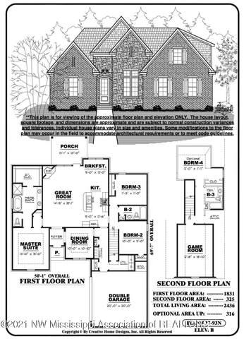 1484 Creek Haven Drive, Hernando, MS 38632 (MLS #333817) :: The Home Gurus, Keller Williams Realty