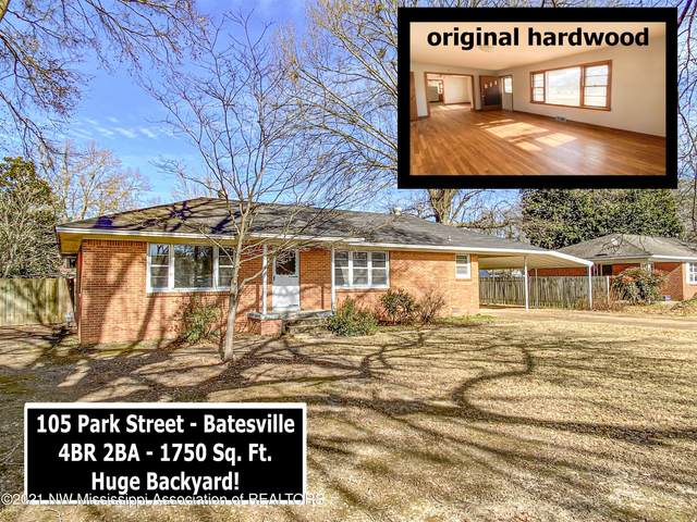 105 Park Street, Batesville, MS 38606 (MLS #333903) :: Signature Realty