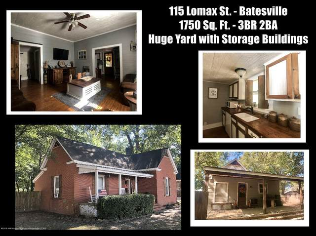 115 Lomax Street, Batesville, MS 38606 (MLS #334106) :: The Live Love Desoto Group