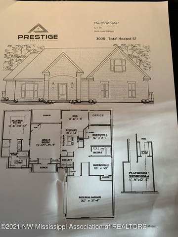 2054 Watson View East, Nesbit, MS 38651 (MLS #334145) :: The Live Love Desoto Group