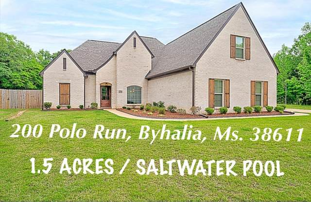 200 Polo Run Cove, Byhalia, MS 38611 (MLS #335385) :: Signature Realty