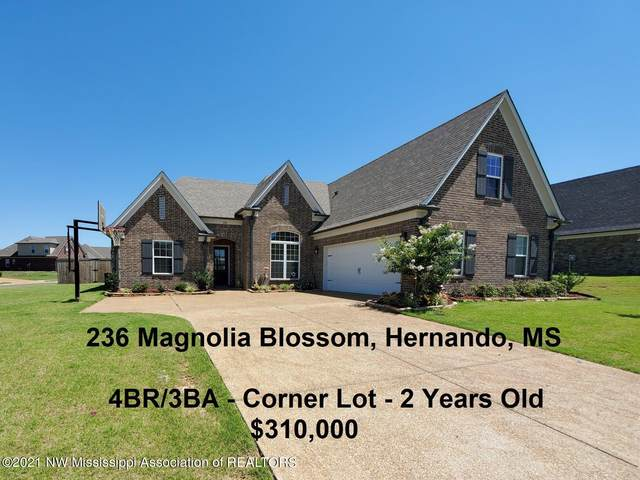 236 Magnolia Blossom Drive, Hernando, MS 38632 (MLS #336058) :: The Live Love Desoto Group