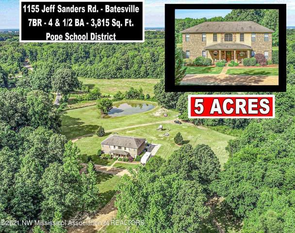 1155 Jeff Sanders Road, Batesville, MS 38606 (MLS #336401) :: Signature Realty