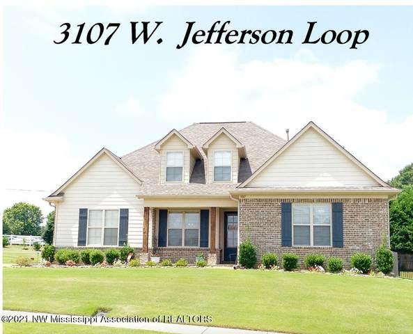 3107 W Jefferson Loop, Hernando, MS 38632 (MLS #336766) :: The Live Love Desoto Group