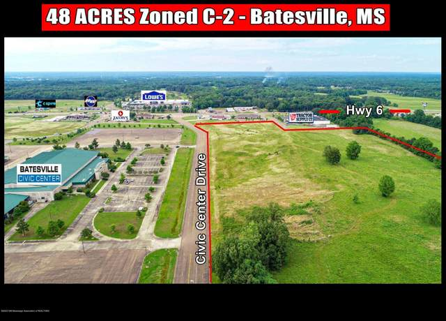 00 Civic Center Drive, Batesville, MS 38606 (MLS #337570) :: Signature Realty