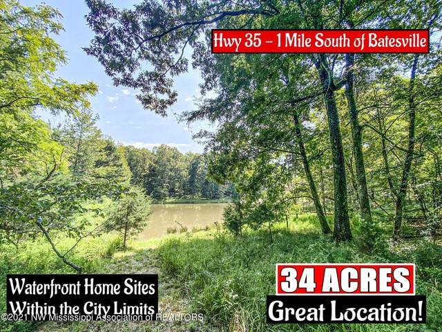 0 S 35 Highway, Batesville, MS 38606 (MLS #337729) :: The Live Love Desoto Group