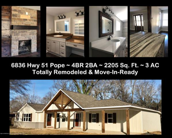 6836 Highway 51, Pope, MS 38658 (MLS #321739) :: Signature Realty