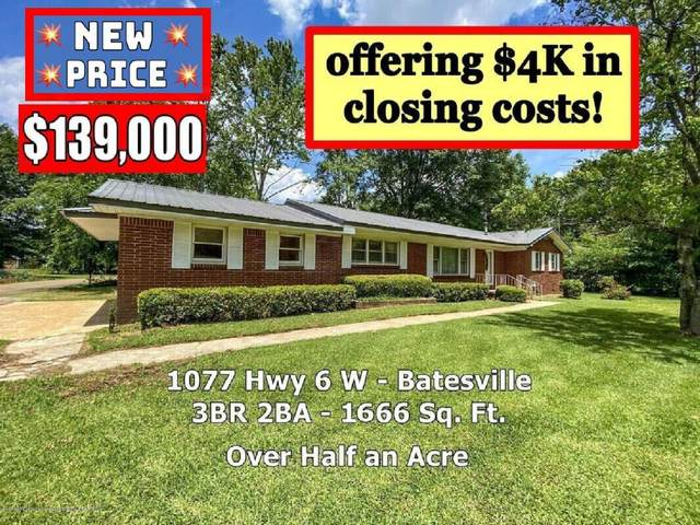 1077 Ms-6, Batesville, MS 38606 (MLS #329709) :: The Live Love Desoto Group